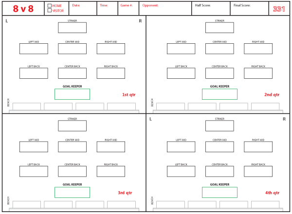 soccer lineup template