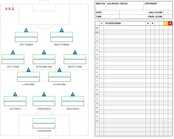 soccer line up template elita aisushi co